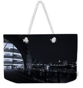 Sage Gateshead At Night Weekender Tote Bag