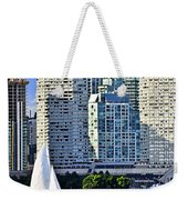 Sailing In Toronto Harbor Weekender Tote Bag by Elena Elisseeva