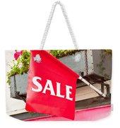 Sale Sign Weekender Tote Bag