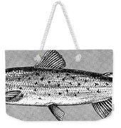 Salmon Weekender Tote Bag by Granger