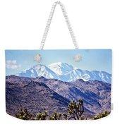 San Gorgonio Mountains Weekender Tote Bag