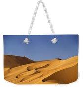 Sand Dune Against Clear Sky Weekender Tote Bag