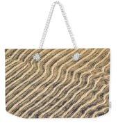 Sand Ripples In Shallow Water Weekender Tote Bag