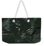 Satin Weekender Tote Bag