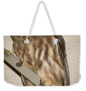Saw-whet Weekender Tote Bag