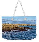 Schoodic Point Acadia National Park Weekender Tote Bag