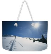 Scott Cooper Backcountry Skiing Weekender Tote Bag