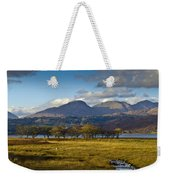 Scottish Landscape View Weekender Tote Bag