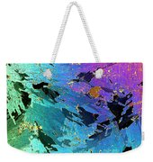 Sea Ice Core One Millimeter Thick Weekender Tote Bag