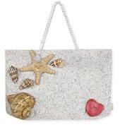 Seastar And Shells Weekender Tote Bag by Joana Kruse