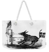 Secession Cartoon, 1861 Weekender Tote Bag