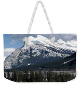 Sharp Rundle Peaks Weekender Tote Bag