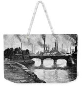 Sheffield, England, 1884 Weekender Tote Bag