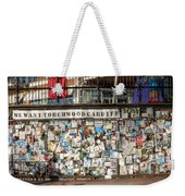 Shrine To Ianto Weekender Tote Bag