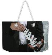 Shuffling Cards Weekender Tote Bag