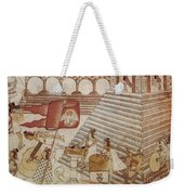 Siege Of Tenochtitlan 1521 Weekender Tote Bag
