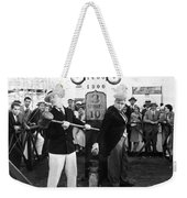 Silent Film: Amusement Park Weekender Tote Bag