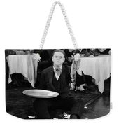 Silent Film: Restaurant Weekender Tote Bag