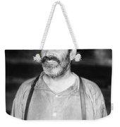Silent Film Still: Beards Weekender Tote Bag