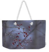 Silent Morning Weekender Tote Bag