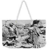 Silent Still: Biblical Weekender Tote Bag