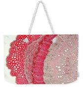 Silver Wattle Stem Weekender Tote Bag