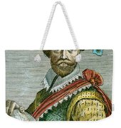 Sir Francis Drake (1540?-1596) Weekender Tote Bag