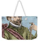 Sir Francis Drake, English Explorer Weekender Tote Bag