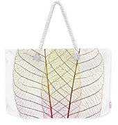 Skeleton Leaves Weekender Tote Bag