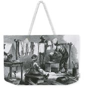 Slaves In Union Camp Weekender Tote Bag by Photo Researchers