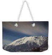 Snow-capped Alps Weekender Tote Bag