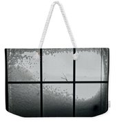 Snow Covers The Streets Weekender Tote Bag