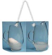 Snow Melting Weekender Tote Bag by Ted Kinsman