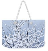 Snowy Trees Weekender Tote Bag by Elena Elisseeva