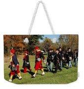 Soldiers March Weekender Tote Bag by LeeAnn McLaneGoetz McLaneGoetzStudioLLCcom