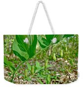 Solomon's Seal Wildflower - Polygonatum Commutatum Weekender Tote Bag