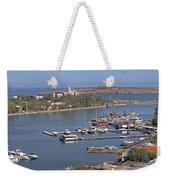 Sozopol Harbour Weekender Tote Bag