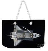 Space Shuttle Atlantis Backdropped Weekender Tote Bag