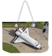 Space Shuttle Atlantis Weekender Tote Bag
