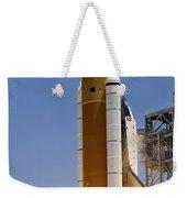 Space Shuttle Atlantis Twin Solid Weekender Tote Bag
