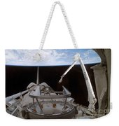 Space Shuttle Discoverys Payload Bay Weekender Tote Bag