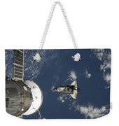 Space Shuttle Endeavour, A Russian Weekender Tote Bag