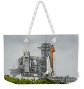 Space Shuttle Endeavour On The Launch Weekender Tote Bag