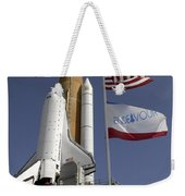 Space Shuttle Endeavour Weekender Tote Bag
