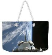 Space Shuttle Endeavours Payload Bay Weekender Tote Bag by Stocktrek Images