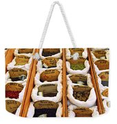 Spices On The Market Weekender Tote Bag by Elena Elisseeva
