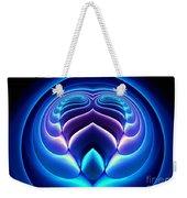 Spiral-3 Weekender Tote Bag by Klara Acel