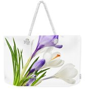 Spring Crocus Flowers Weekender Tote Bag