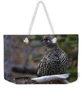 Spruce Grouse Weekender Tote Bag