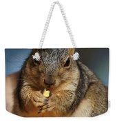Squirrel Eating Corn Weekender Tote Bag
